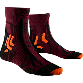 X-Socks Trail Run Energy Sokken Heren, sunset orange/opal black